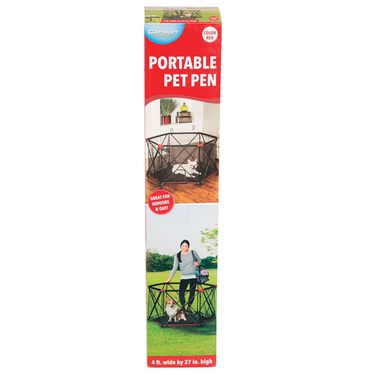 6-Panel Portable Pet Pen