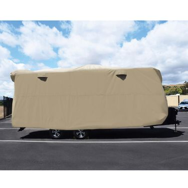 "Storage Lot Cover, Travel Trailer 34'1"" to 37'"