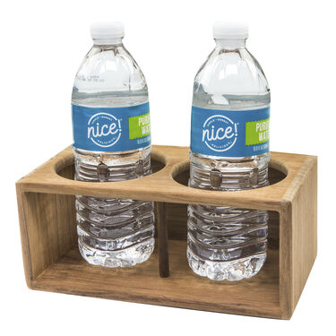 Whitecap Teak Teak Two Insulated Drink Rack