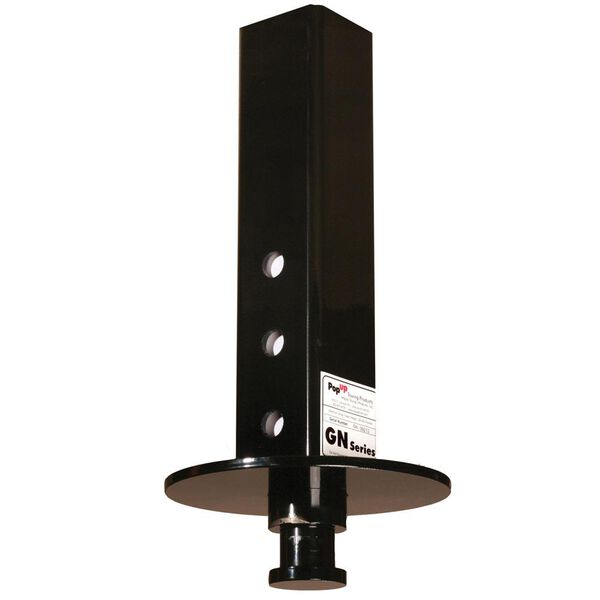 """5th Wheel Goosneck to Kingpin Adapter with 4.5"""" Square Tube"""
