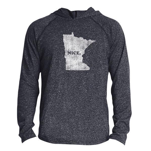 Points North Men's Minnesota ''Nice'' Long-Sleeve Hooded Tee