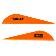 Bohning Heat Vanes, Neon Orange, 36-Pack