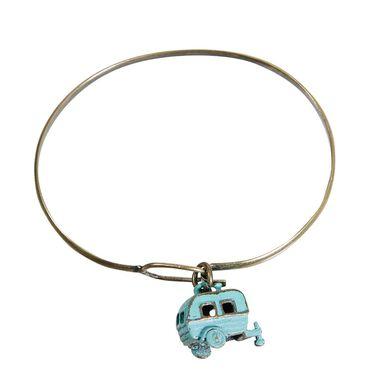 Travel Theme Bracelets, Camper, Turquoise