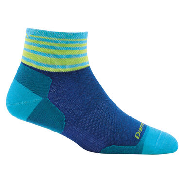 Darn Tough Women's Stripe 1/4 Sock