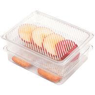 3-Piece Fridge and Freezer Bin Set