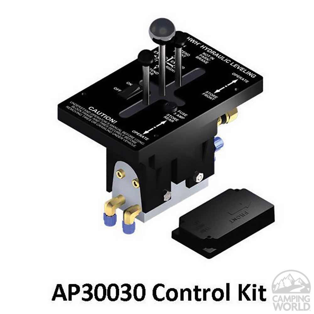 HWH BI-AXIS Hydraulic Leveling System, Joystick