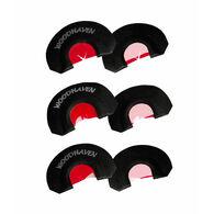 WoodHaven RED Ninja Diaphragm Calls, 3-Pack