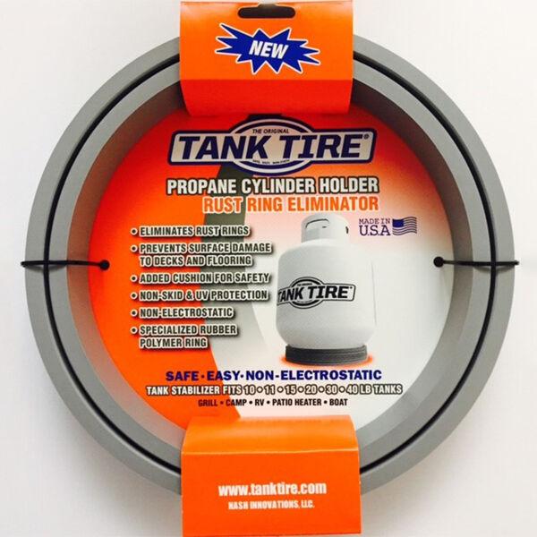 Tank Tire Propane Tank Holder, 2-Pack