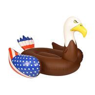 Giant Bald Eagle Inflatable Pool Float