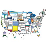 State Sticker Map
