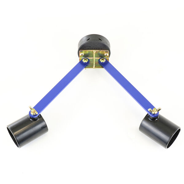 Clam Hub Rod Holder, 2 Rods