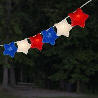 Red, White, and Blue Stars Mini Light Set