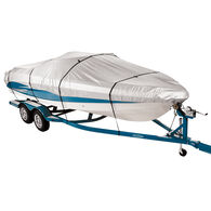 """Covermate 300 Trailerable Boat Cover for 16'-18'6"""" Fish and Ski, Pro Bass Boat"""
