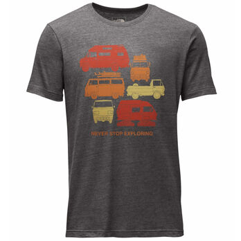 The North Face Men's Van Tri-Blend Short-Sleeve Tee