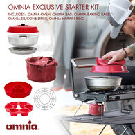 Omnia Stove Top Oven Exclusive Starter Kit