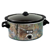 Realtree 8 Quart Slow Cooker with Lid Latch Strap