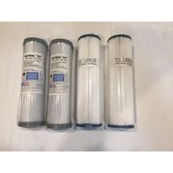 Replacement Filter Package - Two Pre-Filters and Two Carbon Filters
