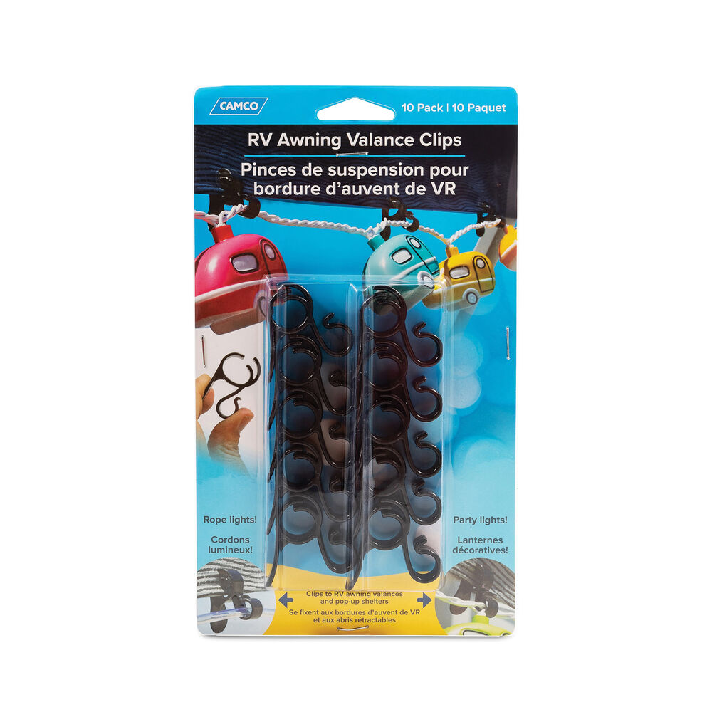 Camco Rv Awning Valance Clips 10 Pack Camping World