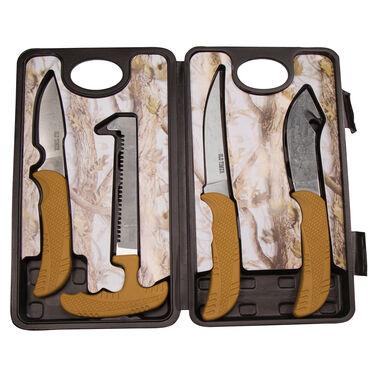 Old Timer 4-Piece Hunting Knife Kit