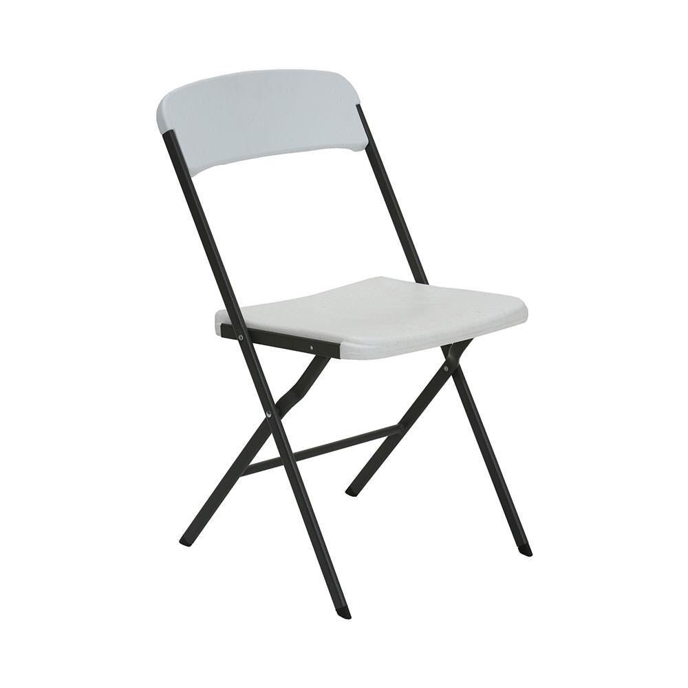 Amazing White Granite Contemporary Essential Folding Chair 6 Pack Interior Design Ideas Apansoteloinfo