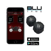 BLU Tire Pressure & Temperature Monitoring System, External Sensor, 1-100psi, Set of 2