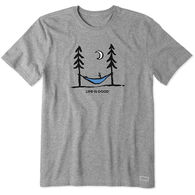 Life Is Good Men's Peace. Out. Crusher Short Sleeve Tee
