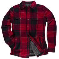 Ultimate Terrain Men's Explorer Brawny Shirt Jacket - Sherpa-Lined