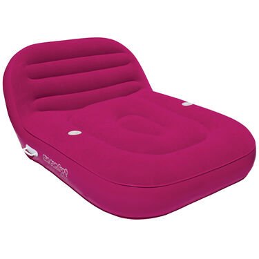 Airhead Sun Comfort Cool Suede Double Chaise Lounge
