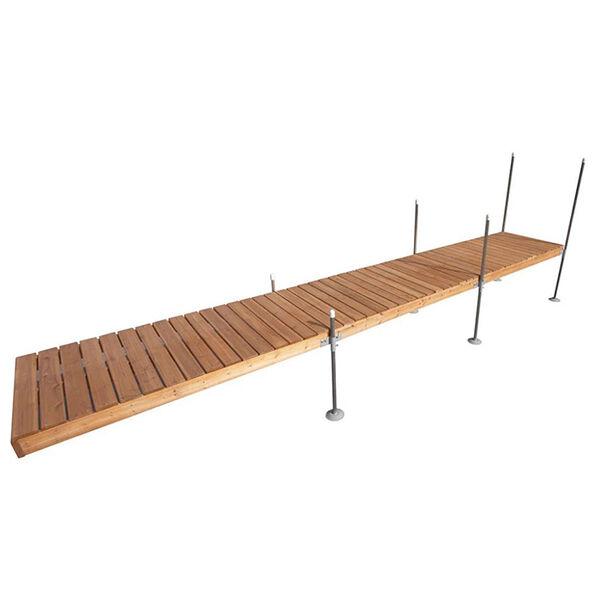 Tommy Docks 24' Straight Cedar Complete Dock Package