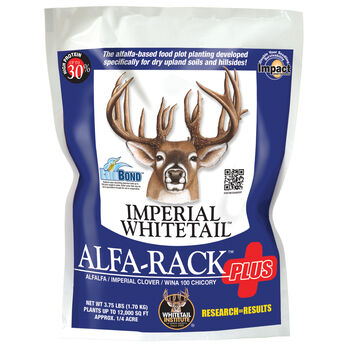Whitetail Institute Imperial Alfa-Rack Plus, Northern USA, 3-3/4 lbs.