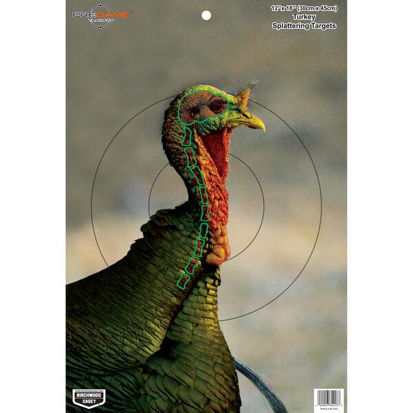 "Birchwood Casey Pregame 12"" x 18"" Turkey Targets, 8-Pack"