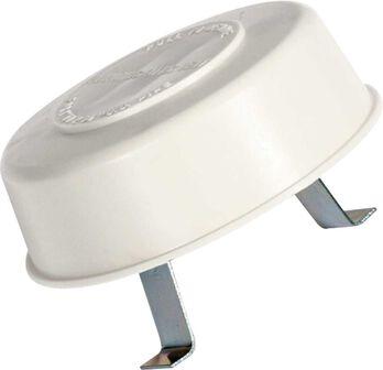 Replace-All Plumbing Vent Cap - Polar White