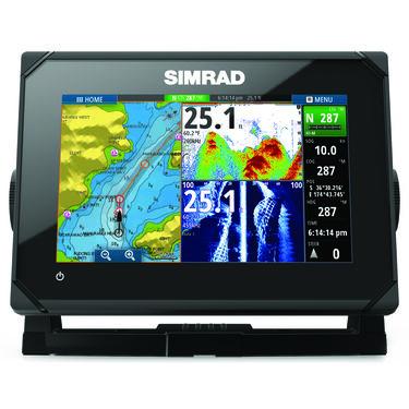Simrad GO7 XSE Fishfinder Chartplotter With Basemap and HDI Transducer