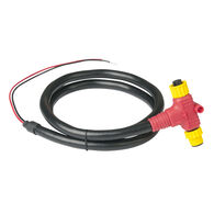 Ancor NMEA 2000 Approved Power Cable with Tee, 1 Meter