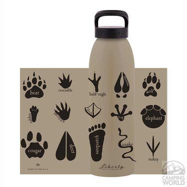Liberty Bottle, Animal Tracks