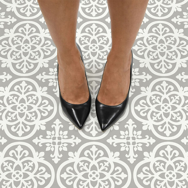 FloorPops Medina Peel-and-Stick Floor Tiles