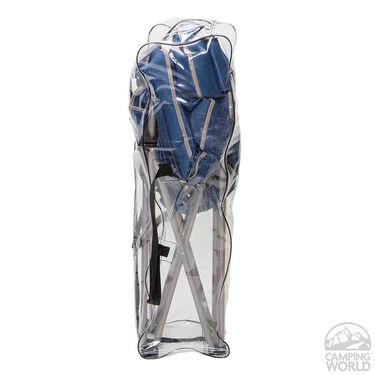 Rocking Bag Chair, Blue and Gray