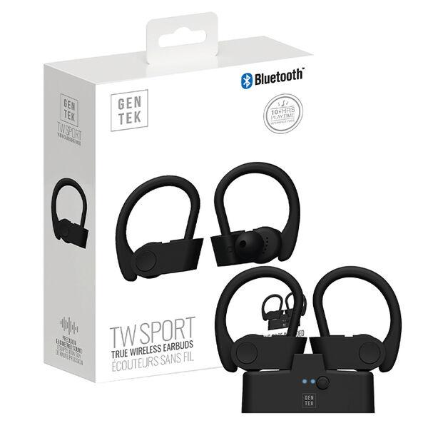 Gen Tek Wireless Earbuds with Charging Case