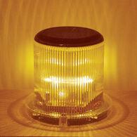 LED Solar Warning Light Amber