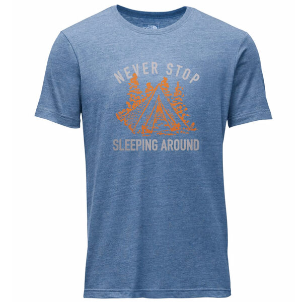 The North Face Men's Campin' Tri-Blend Short-Sleeve Tee