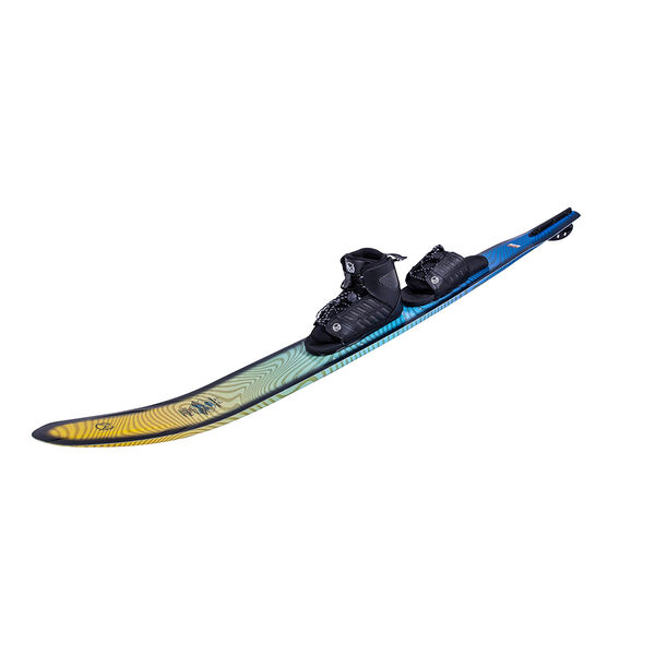 HO Fusion Freeride With FreeMax Binding And Adjustable Rear Toe Plate
