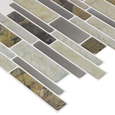 Peel and Stick Mosaics, El Capitan- 5 Pack