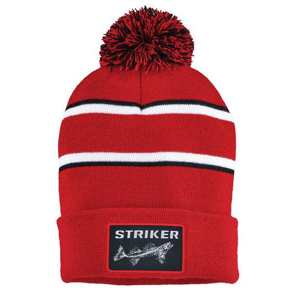 Striker ICE Men's Striped Pom Hat