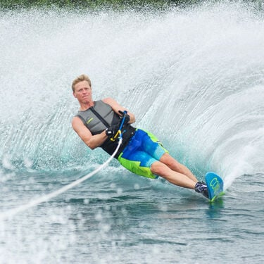 Connelly V Slalom Waterski With Double Shadow Bindings