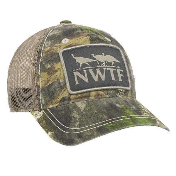 Mossy Oak National Wild Turkey Federation Mesh Back Cap