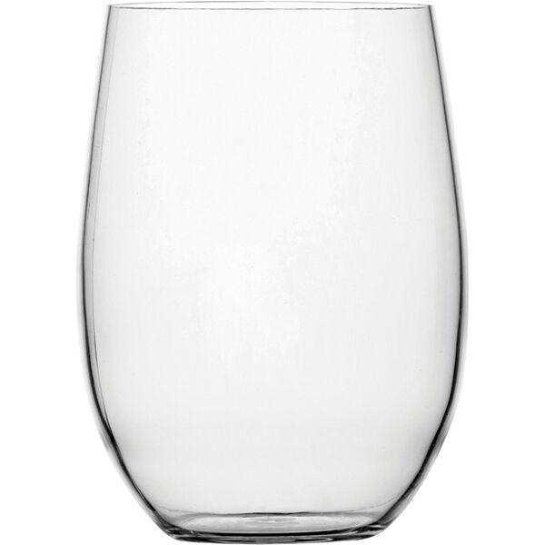 Non-Slip Beverage Clear Glass, Set of 6