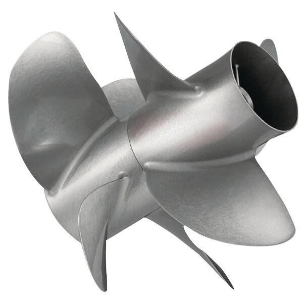 Quicksilver Thunderbolt DPS 4-Bl Propeller / SS, 14.25 dia x 22.5,RH