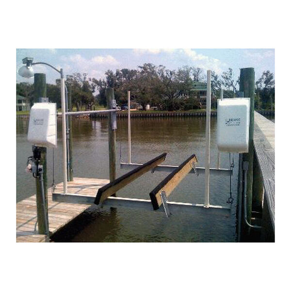 Lunmar Piling-Mount 4,200-lb. Capacity Cradle Boat Lift