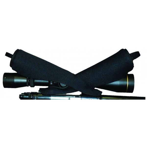 Horn Hunter Single Shot Riflescope Cover, Black, Medium
