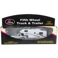 Miniature Pickup and 5th Wheel